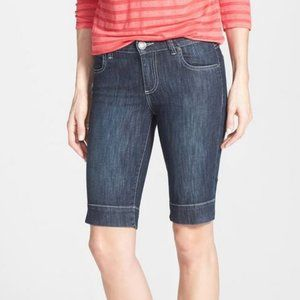 Kut from the Kloth Natalie Denim Bermuda Shorts 8